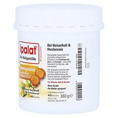 IPALAT Halspastillen honigmild o.Menthol zuckerfr. 400 Stück - Linke Seite