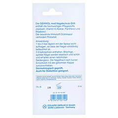 GEHWOL Nagelschutz Stift 3 Milliliter - Rückseite