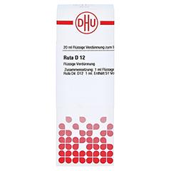 RUTA D 12 Dilution 20 Milliliter N1 - Vorderseite