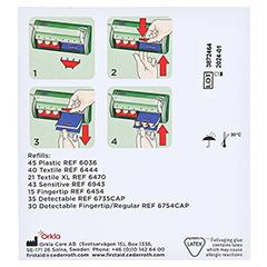 SALVEQUICK Pflasterstrips elastisch Refill 6444 40 Stück - Rückseite