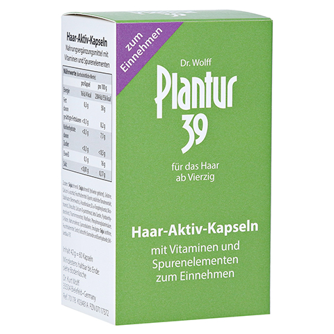 Plantur 39 Haar Aktiv Kapseln 60 Stück