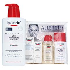 EUCERIN pH5 Intensiv Lotio m.P. + gratis Eucerin Allergie Probierset 400 Milliliter