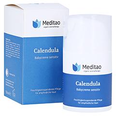 MEDITAO Calendula Babycreme sensitiv 50 Milliliter