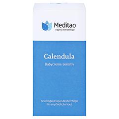MEDITAO Calendula Babycreme sensitiv 50 Milliliter - Vorderseite