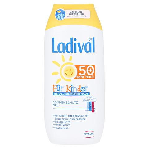 Ladival Kinder Sonnengel allergische Haut LSF 50+ 200 Milliliter