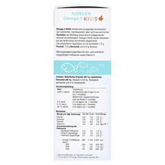 Norsan Omega-3 Kids flüssig 150 Milliliter - Linke Seite
