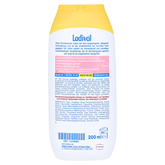 Ladival Empfindliche Haut Lotion LSF 50 + gratis Ladival Standtuch 200 Milliliter - Rückseite