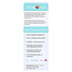 Norsan Omega-3 Kids flüssig 150 Milliliter - Rückseite