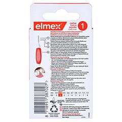 ELMEX Interdentalbürsten ISO Gr.1 0,45 mm orange 8 Stück - Rückseite