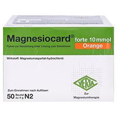 Magnesiocard forte 10mmol Orange 100 Stück N3 - Vorderseite
