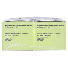 Magnesiocard forte 10mmol Orange 100 Stück N3 - Rechte Seite