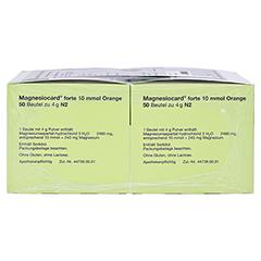 Magnesiocard forte 10mmol Orange 100 Stück N3 - Linke Seite