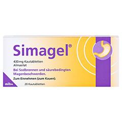 Simagel 20 Stück N1 - Vorderseite