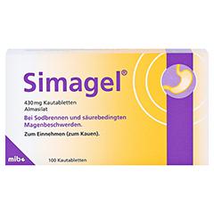 Simagel 100 Stück N3 - Vorderseite