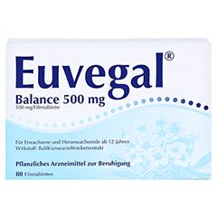 Euvegal Balance 500mg 80 Stück - Vorderseite