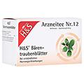 H&S Bärentraubenblätter 20 Stück N1