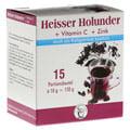 HEISSER Holunder+Vit.C+Zink Pulver 15x10 Gramm