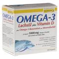 Omega-3 Lachsöl + Vitamin D + Omega-3-Konzentrat 100 Stück