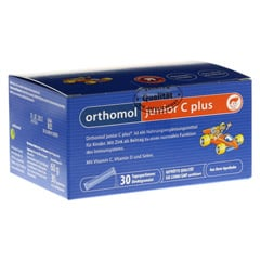 ORTHOMOL Junior C plus Granulat 30 Stück
