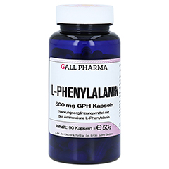 L-PHENYLALANIN 500 mg Kapseln 90 Stück