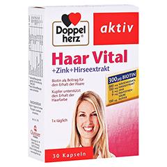 DOPPELHERZ Haar Vital+Zink+Hirseextrakt Kapseln 30 Stück