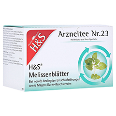 H&S Melissenblätter 20x1.5 Gramm