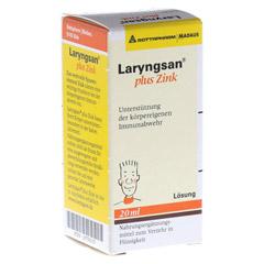 LARYNGSAN Plus Zink Lösung 20 Milliliter