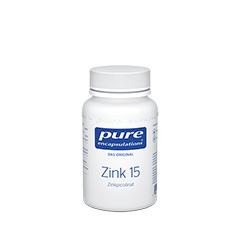 PURE ENCAPSULATIONS Zink 15 Zinkpicolinat Kapseln 180 Stück