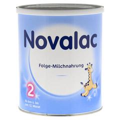 NOVALAC 2 Standard Folge-Milch 6-12 M. 800 Gramm