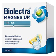 BIOLECTRA Magnesium Brausetabletten 20 Stück