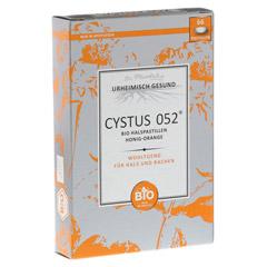 CYSTUS 052 Bio Halspastillen Honig Orange 66 Stück