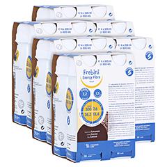 FREBINI Energy Fibre Drink Schokolade Trinkfl. 6x4x200 Milliliter