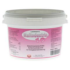 MALTODEXTRIN 19 Lamperts Pulver 1500 Gramm