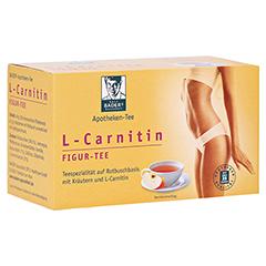 BADERS Aktiv Tee L-Carnitin Filterbeutel 20 Stück