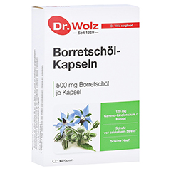 BORRETSCHÖL KAPSELN Dr.Wolz 60 Stück