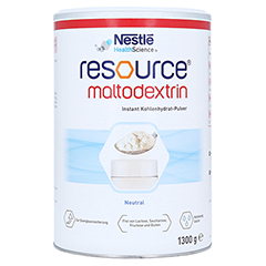 RESOURCE Maltodextrin Pulver 1300 Gramm