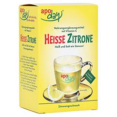 APODAY heiße Zitrone Vit.C Pulver 10x10 Gramm