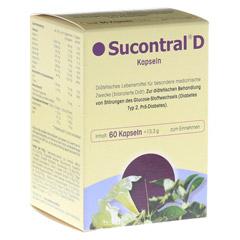 SUCONTRAL D Diabetiker Kapseln 60 Stück