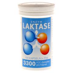 LAKTASE 3.300 FCC Enzym Kapseln 100 Stück
