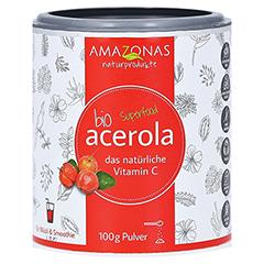 ACEROLA 100% Bio Pur nat.Vit.C Pulver 100 Gramm