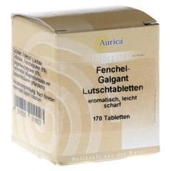 FENCHEL-GALGANT-Lutschtabletten Aurica 170 Stück