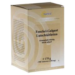 Fenchel Galgant Lutschtabl. Aurica 700 Stück