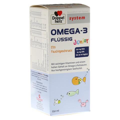 DOPPELHERZ Omega-3 Junior flüssig system 250 Milliliter