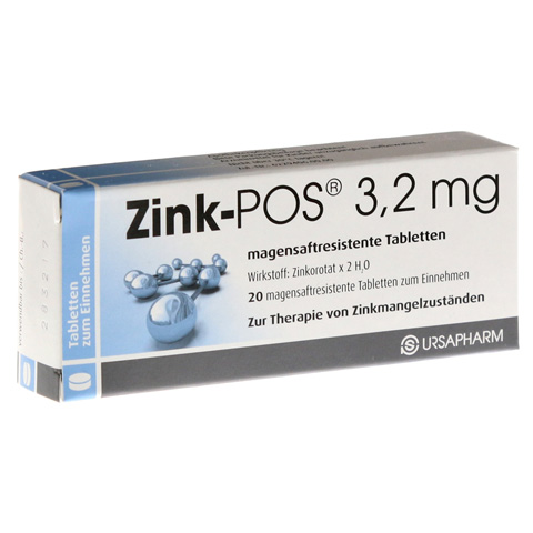 Zink-POS 3,2mg 20 Stück N1