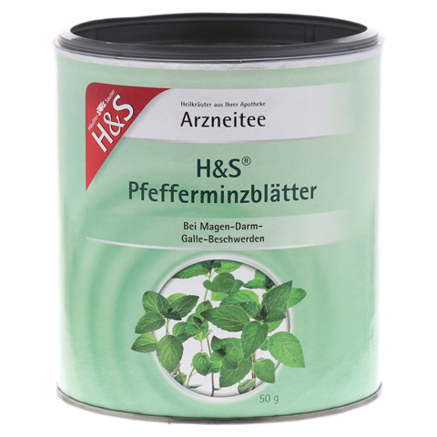 H&S Pfefferminzblätter (loser Tee) 50 Gramm