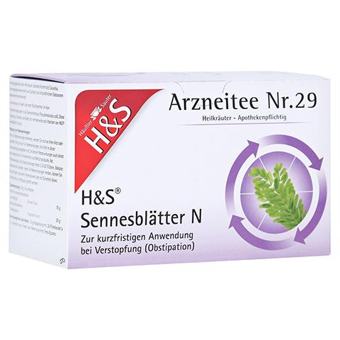H&S Sennesblätter N 20 Stück N1
