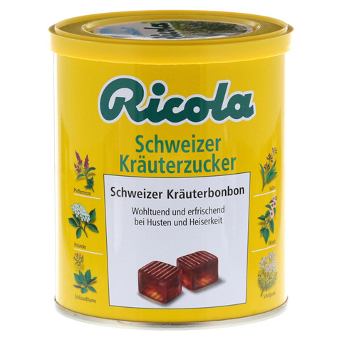 Ricola m.Z. Kräuter Bonbons 250 Gramm