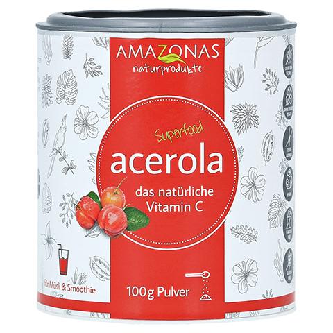 ACEROLA 100% natürliches Vitamin C Pulver 100 Gramm