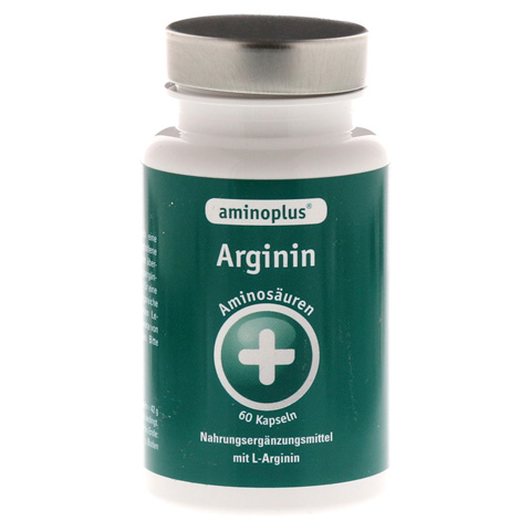 AMINOPLUS Arginin Kapseln 60 Stück