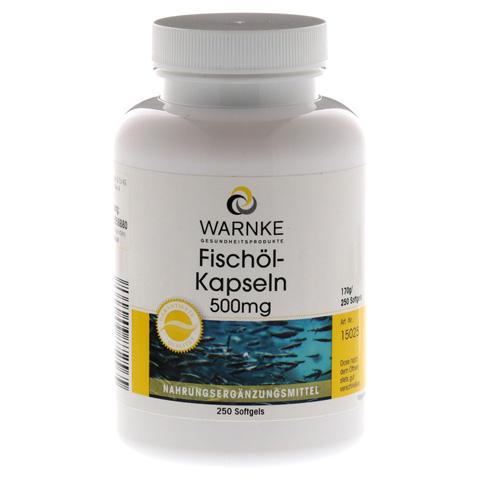 FISCHÖL Kapseln 500 mg 250 Stück